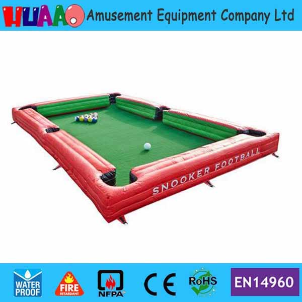 7.8x4.8m PVC inflatable snooker football pool Inflatable Snooker table(1 air blower+inflatable pool+16pcs snooker balls) desktop mini mini pool snooker table game set green size m