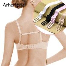 Arherigele 5pcs Double shoulder Strap Anti Slip resistant Belt Buckle Shoulder Strap Non Slip Back Bra