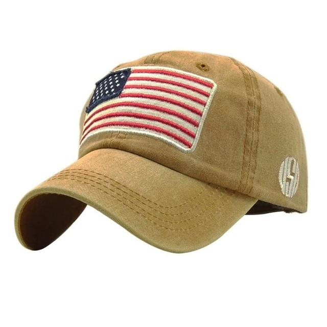 USA Flag Lavato Berretto da baseball Uomo Donna Denim lettera Del Cappello di Osso Ricamo in America Hip Hop Trucker Cap 5
