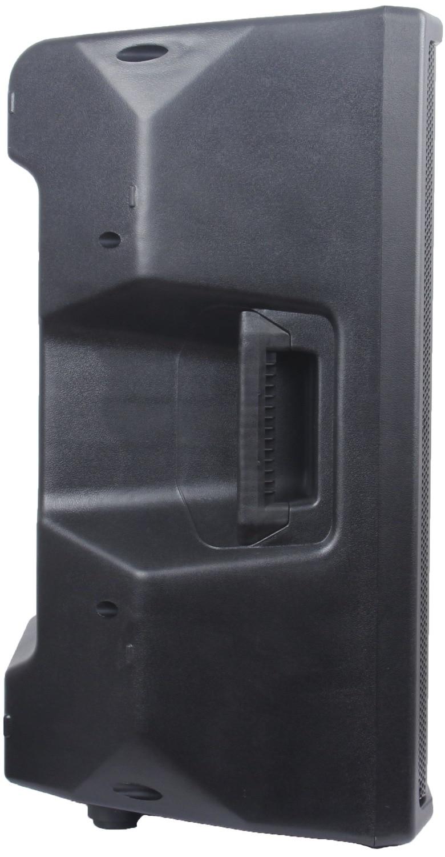 STARAUDIO Pro 4500W 15 Powered Active Stage PA DJ Karaoke DSP Speaker with Stand 2CH Wireless IR Mics SDSP-15