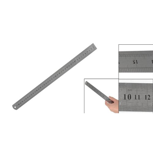 10pack (Stainless Steel 16 Inch Straight Ruler Measuring Kit Metric 40cm 2pcs dual side stainless steel measuring straight ruler 300mm 12 inch