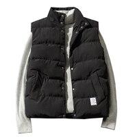 Winter Jacket Mens Jacket Sleeveless Camouflage Casual Coats Male Cotton Padded Men's Vest Men Thickening Waistcoat M 5XL