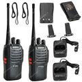 2x Walkie talkie BAOFENG BF-666S UHF 400-470MHz 5W CTCSS DCS Two Way Radio Walkie/Talkie  LB0549