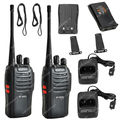 2x Walkie talkie BAOFENG BF-666S UHF 400-470 МГц 5 Вт CTCSS DCS Двухстороннее Радио/Рации LB0549