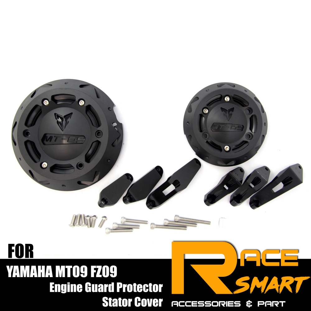 Engine Side Guard Stator Clutch Cover Protector for Yamaha MT09 FZ-09 2014-2016