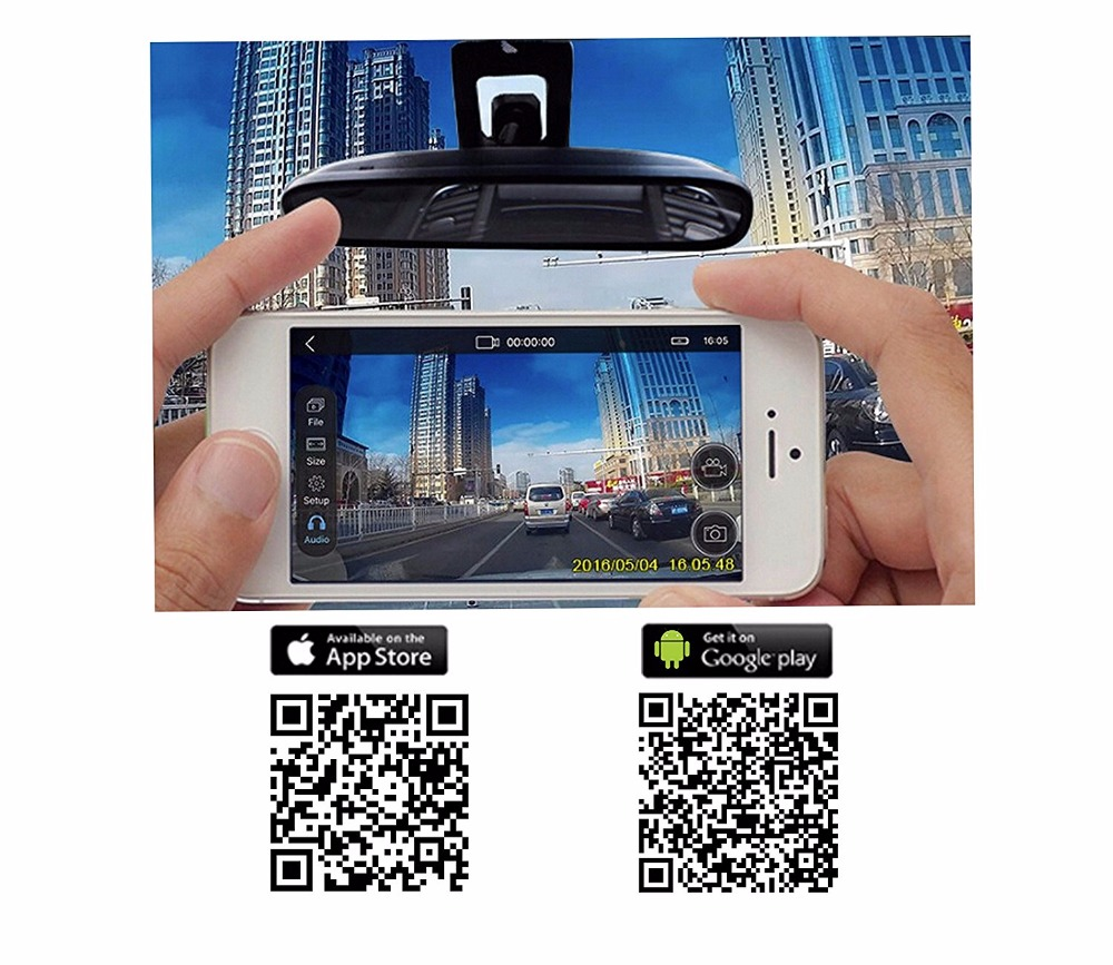 WIFI Cameras Mirror Auto Video for BMW X3 F18 F07 F25 Support APP Control Novatek 96655 use SONY 322 Sensor Free Shipping in DVR Dash Camera from Automobiles Motorcycles