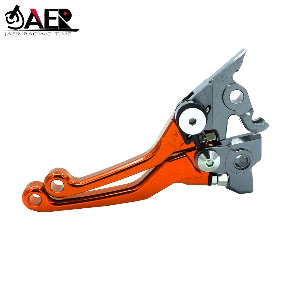 Image 2 - JAER CNC Pivot Brake Clutch Levers For KTM SXF SX EXC XC XCF XCW MXC 125 200 250 300 400 450 505 525 2005 2006 2007 2008-in Levers, Ropes & Cables from Automobiles & Motorcycles