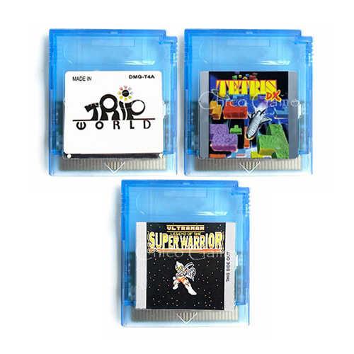 Tetris DX Video Game Memory Cartridge Card for 16 Bit