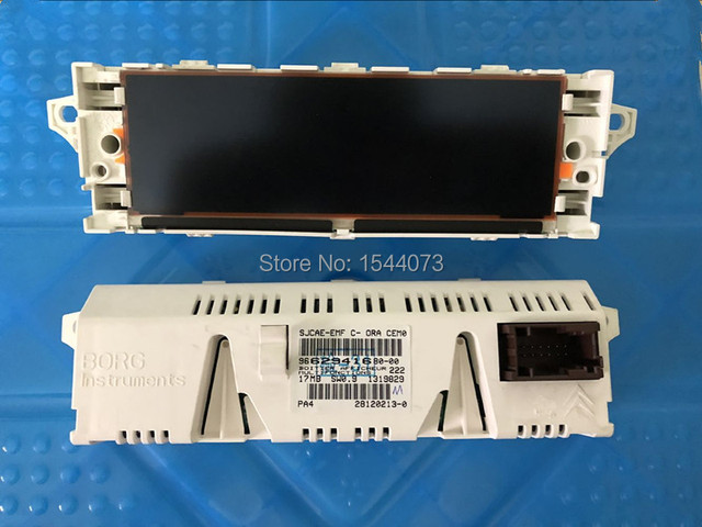 Blanco rojo Shell pantalla USB + Dual-zona aire Bluetooth Monitor 12 Pin para Peugeot 307 de 407 408 citroen C4 C5
