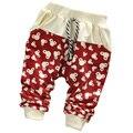 2015 Осенью новый хлопок детские брюки 0-2 лет baby boy брюки для девочек брюки