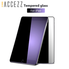 !ACCEZZ Full Cover Tempered Glass For iPad mini 1/2/3 Tablet HD Clear Anti Scratch Coverage Full Screen Protector Toughened Film 1 2 5 6 pcs anti scratch ultra clear protective film guard for fitbit charge 2 wristband full screen protector cover