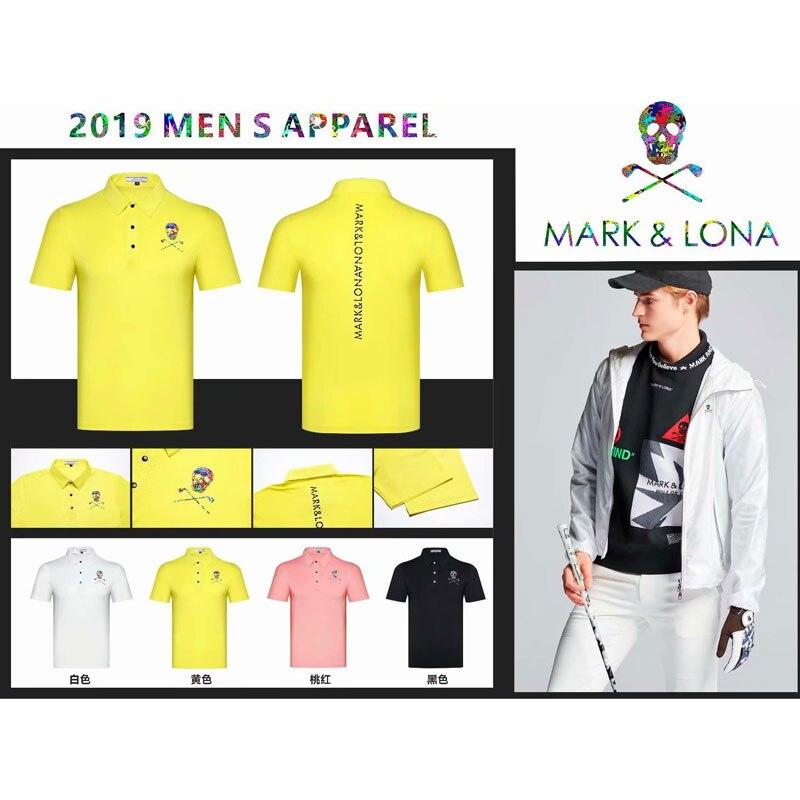 Chemise de Golf Cooyute dernière marque printemps été. T-Shirt de sport de Golf LONA manches courtes anti-boulochage T-Shirt de Golf court livraison gratuite - 6