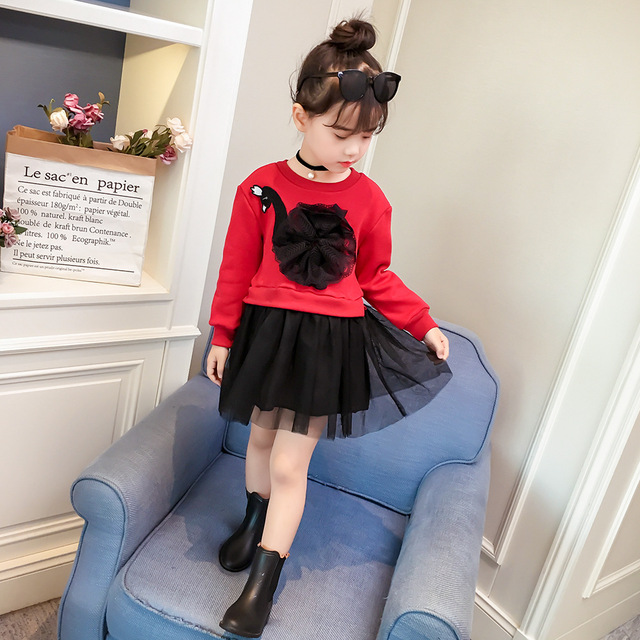 4 color!!! 2019 New Baby girls clothing sets kids girls T-shirt+pant cartoon suit clothing children clothes spring autumn wear