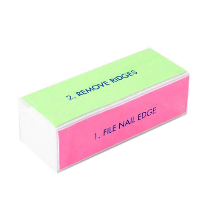 10Pcs 4 Side Sanding Nail Buffing Nail Art Buffer File Block ...