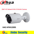 Dahua 2MP HDCVI camera CCTV 1080P Water-proof IP67 HAC-HFW1200S Bullet Camera lens 3.6mm IR LEDs length 30m mini security camera