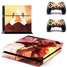Game APEX Legends PS4 Skin Sticker Decal for Sony PlayStation 4 Console and 2 controller skins PS4 Stickers Vinyl Accessory