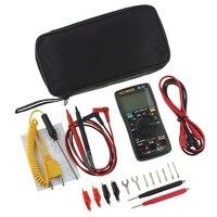 AN8009 True RMS Auto Range Digital Multimeter NCV Ohmmeter Voltage Ammeter Black