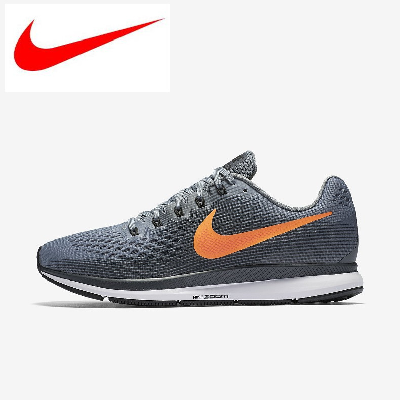 c9f3ce23d7533 Original New Arrival Nike Air Zoom Pegasus 34 Men's Running Shoes,official  Sport Sneakers Shoes 880555-002 size40-44.5