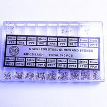 540 шт./компл. высокое качество запчасти для часов-камни, кристаллы, запчасть для часов-71508