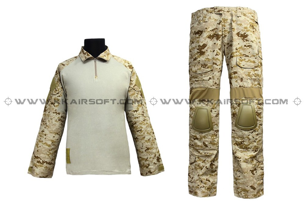 EMERSON Navy Seals Combat Set BDU Uniform (AOR1 MC AT Marpat Woodland) em6914 emerson military army uniform combat uniform gen2 marpat woodland em6913