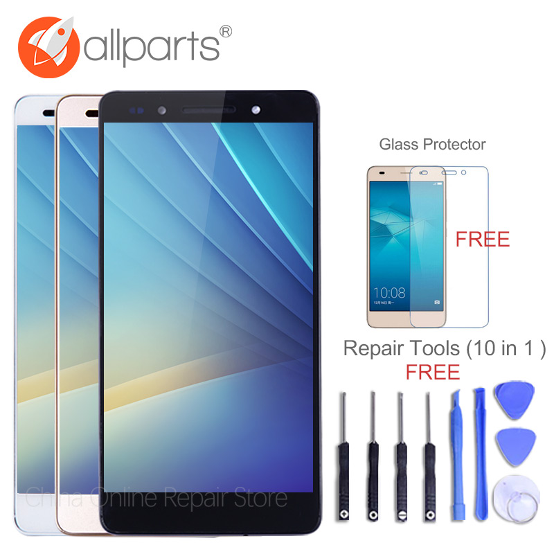 A+ Grade 5.2 IPS LCD For HUAWEI Honor 7 LCD Display Touch Screen Digitizer with Frame Honor 7 Display LCD Honor7 Replacement