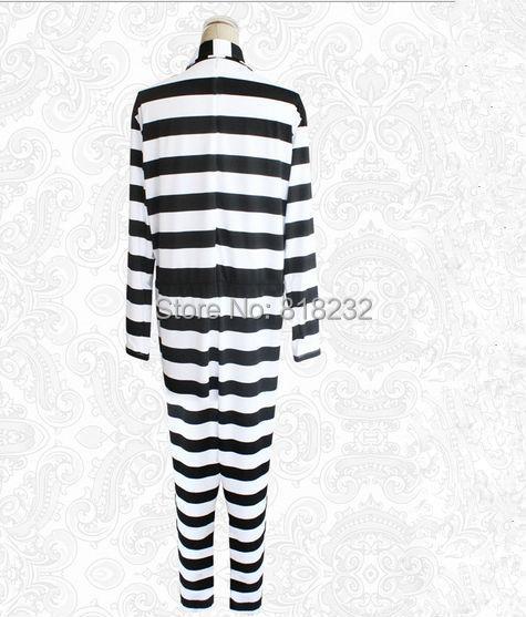Kangoku Gakuen Prison école Uniforme De La Prison Jumpsuit Pyjamas