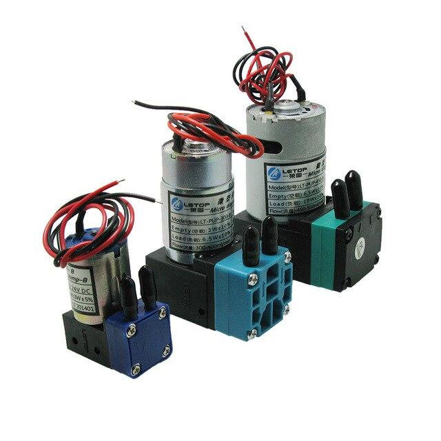 LETOP Outdoor Maschine Lösungsmittel Inkjet Drucker 3W 7W 10W Drucker Tinte Pumpe 24V