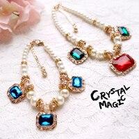 Envío libre de lujo piedras preciosas joya perla ajustable collar de perro accesorios para mascotas gato joyería vestido a juego ropa mascotas