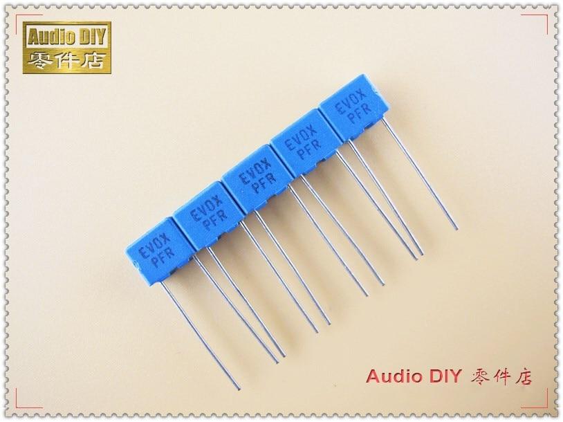 10PCS/50PCS EVOX PFR Series 5600pF 63V 63v5600pf 5% MKP Film Capacitor 5.6nF 562