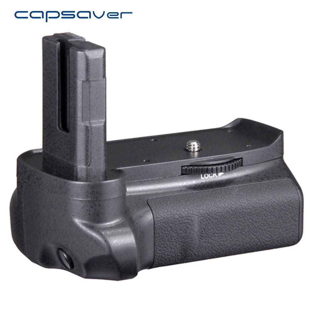 capsaver Vertical Battery Grip for Nikon D3100 D3200 D3300 DSLR Camera Battery Holder Work with EN-EL14 vertical external battery grip for nikon d3100