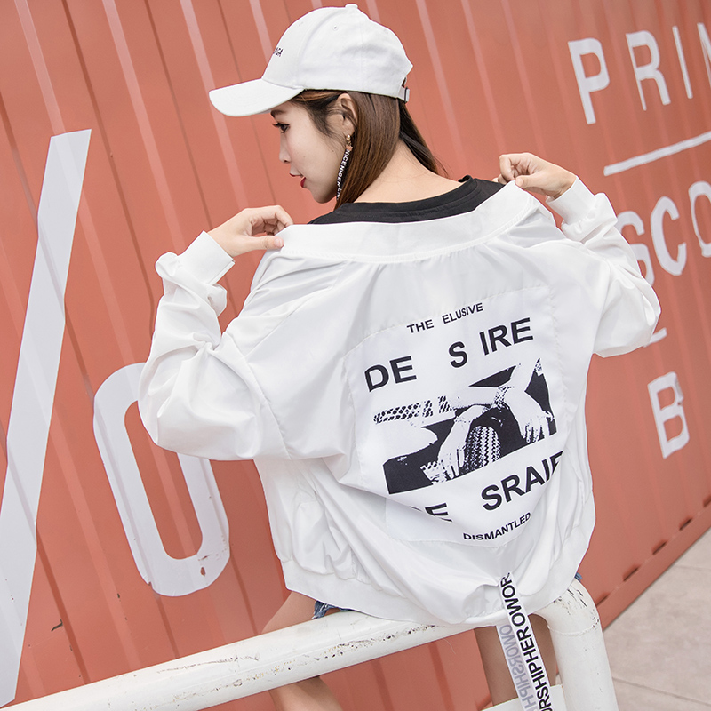 Jackets   Women Print New Women's   Basic     Jacket   Fashion Windbreaker High Quality Outwear Female Coat