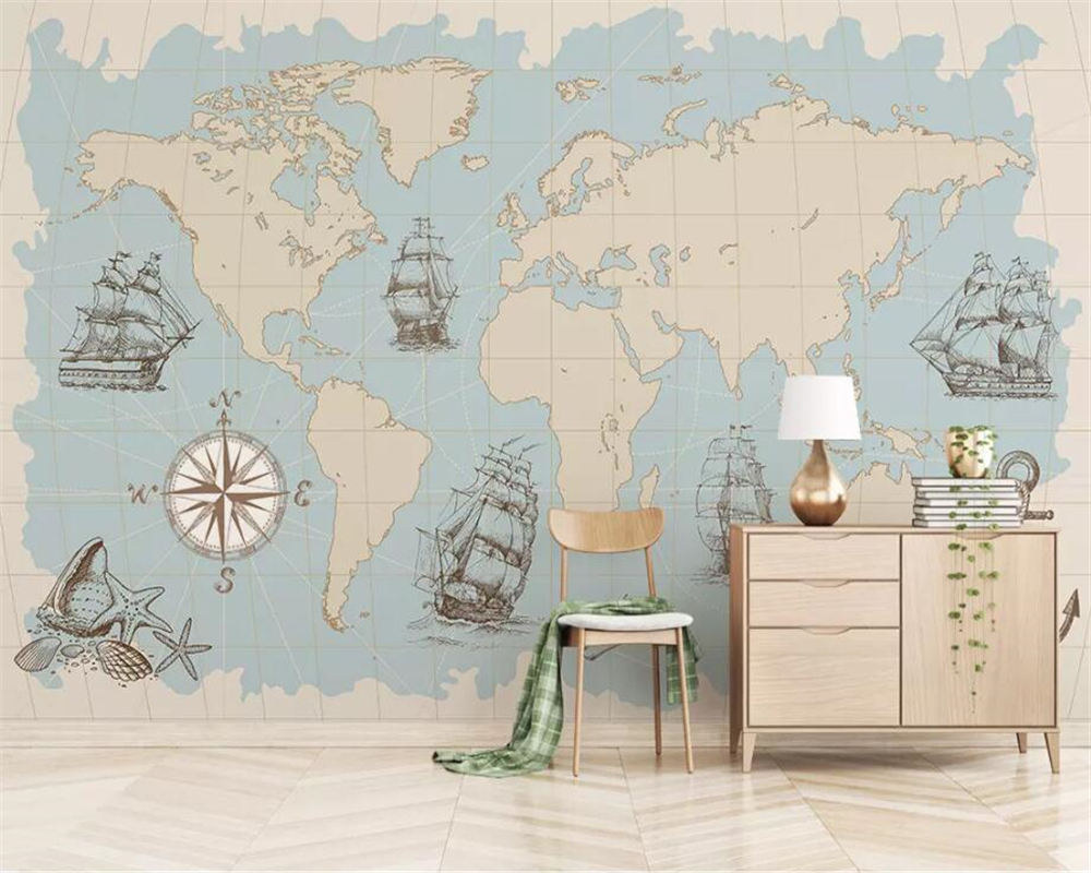 US $8.85 41% OFF|beibehang Custom 3d wallpaper meval European style on map tiles, map of america, map art ideas, map canvas painting, map wallpaper, map posters, map craft projects, map tattoo designs, map t-shirt designs, map border designs, map book covers, map wall decal, map still life, map wall art,