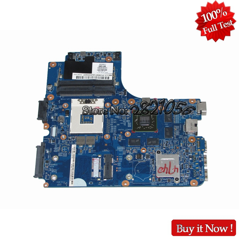NOKOTION laptop motherboard for HP probook 4740s 4540s 4440s 4441s 683494-001 HM76 HD 7650M 2GB DDR3 100% Tested 683493 001 for hp 4740s 4540s 4441s 4446s 4440s laptop motherboard fully tested working