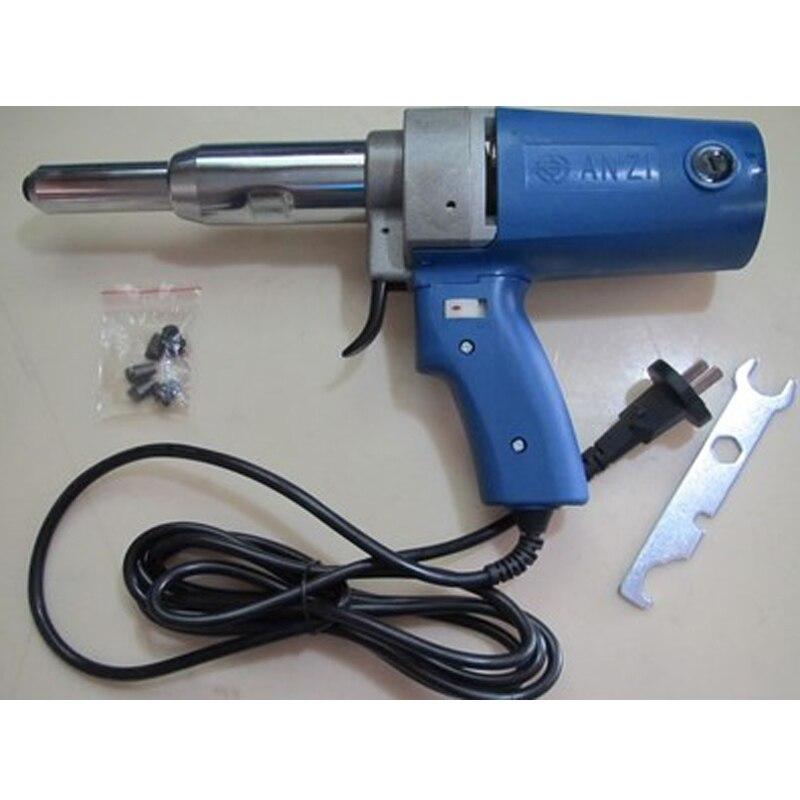6pcs/lot  High Quality PIM-SA3-5 220V Electric Rivet Gun/hitter Blind-Riveting Tool gun 7000N