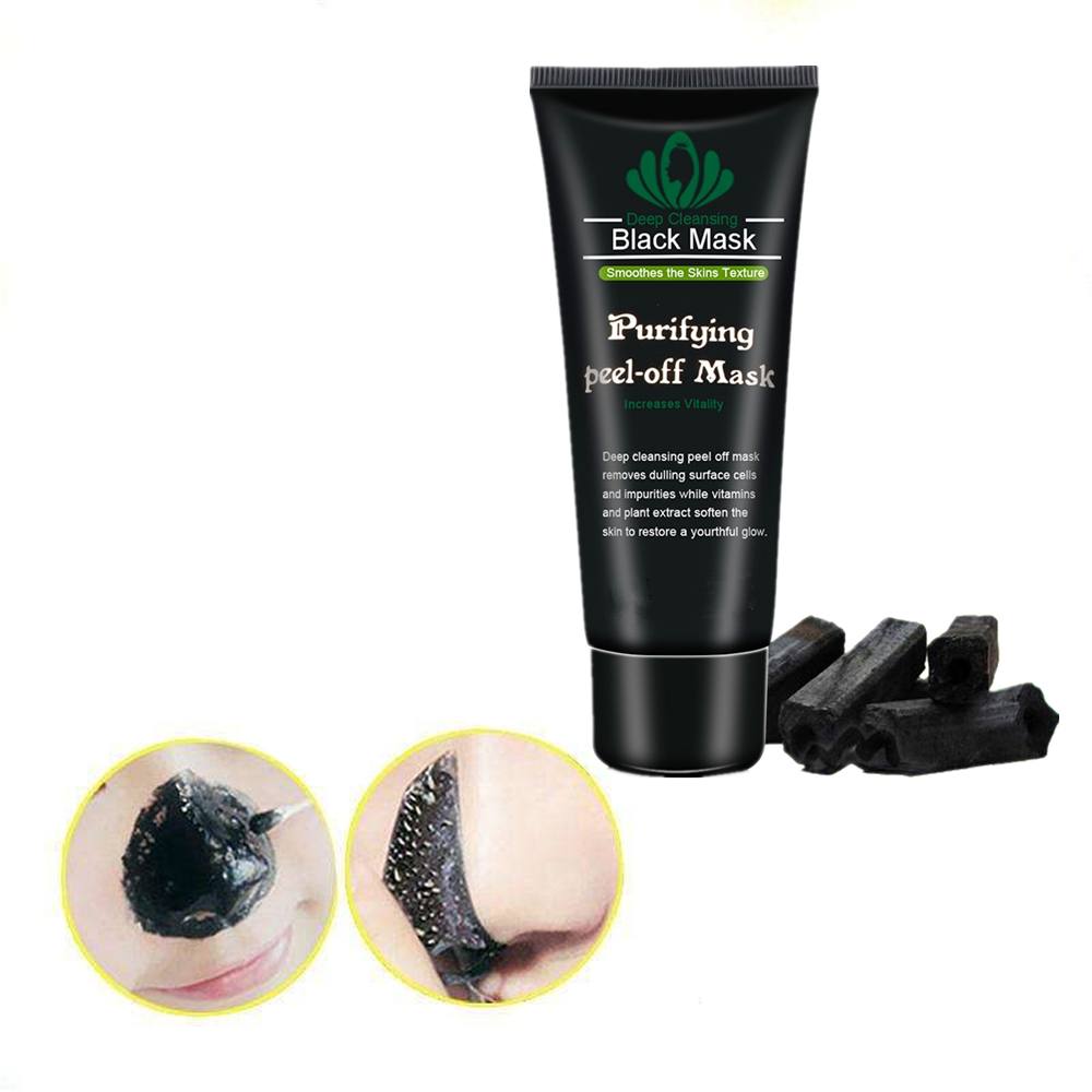 Peel Off Charcoal Blackhead Remover Mask Nose Black Mask Face Care Mud Acne Treatment Skin Care Facial Masks Oil Control