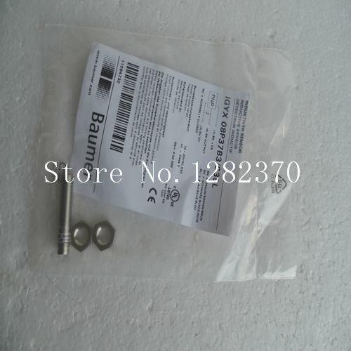 все цены на  [SA] New original authentic special sales BAUMER sensor IGYX 08P37B3 / S35L spot --5PCS/LOT  онлайн