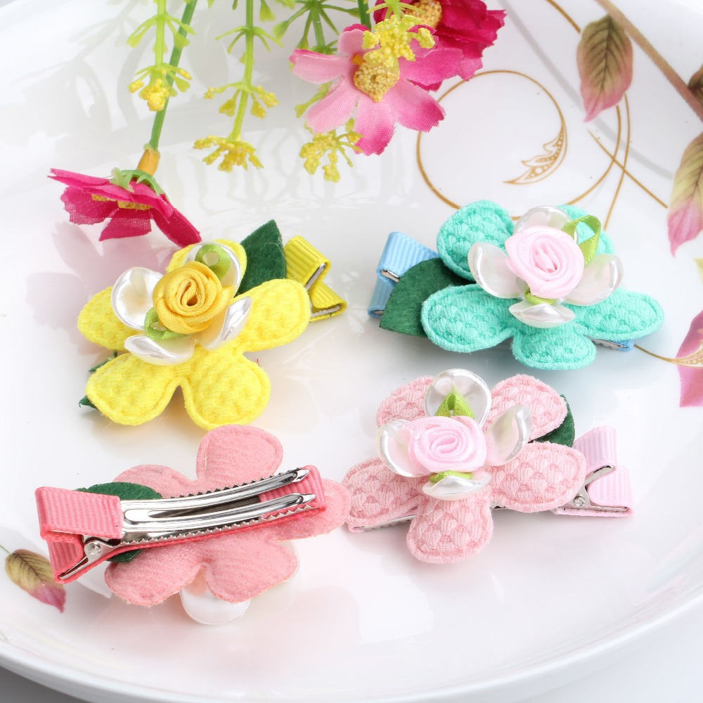 Online get cheap shell ribbon aliexpress alibaba group new arrival shell hairpins children flower hair accessories baby ribbon floral headwear girls gift baby lovely dhlflorist Image collections