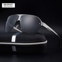 Neue art von aluminium-magnesium-legierung männer polarisierte sonnenbrillen fahren brille lunettes de soleil homme herren sonnenbrille