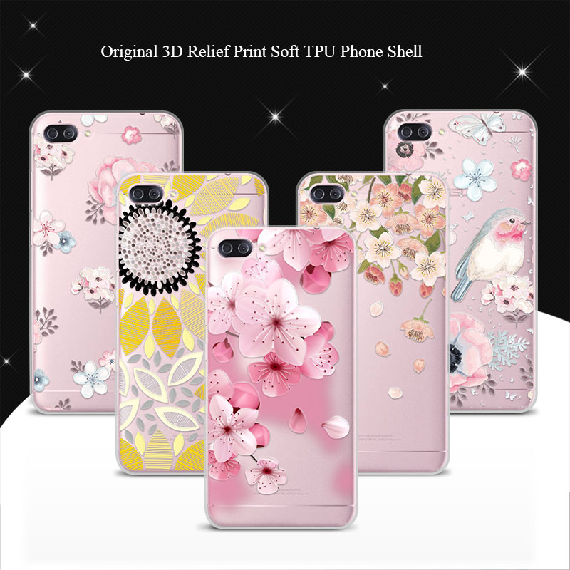 For ASUS ZenFone 4 Max ZC554KL ZC 554KL 5.5 Case Cover 100% Genuine 3D Relief Print TPU Soft Phone Cases Coque Lace Funda+Gift