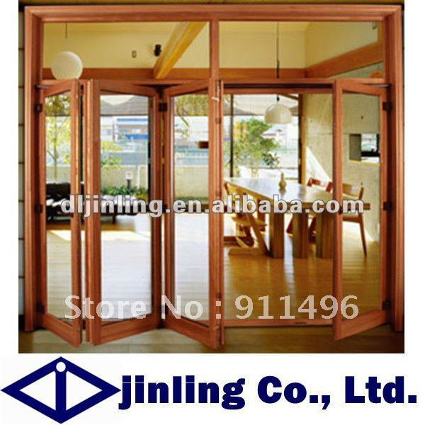 Entry Door Soundproof Wood Folding Doors Glass Lowes