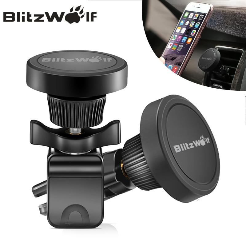 BlitzWolf BW MH Degree Rotation Magnetic Car Air Vent Mount Holder For