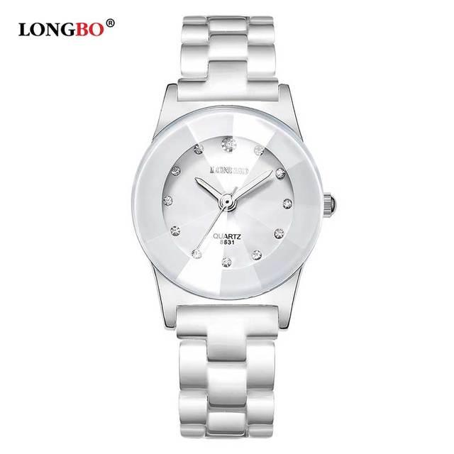 3d7dc8308ce Watches Women Luxury Brand LONGBO New Fashion Ceramic lover Watch 3ATM  Waterproof Quartz Wrist Watch relogio