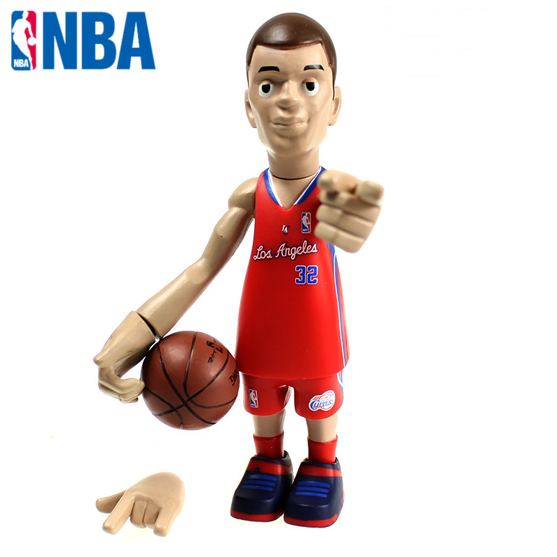 ФОТО 16cm NBA The Los Angeles Clippers All-Star Basketballplayer Blake Griffin Action Figure Q Version Of Mode For Christmas Gift