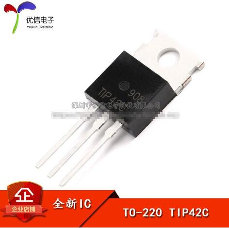 Transistor TIP42C Transistor TO-220 Electronic Components [10pcs / lot] ...