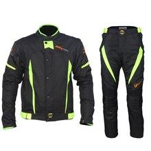 Новое поступление! Riding Tribe черные отражающие гоночные зимние куртки и штаны, мотоциклетные водонепроницаемые куртки костюмы брюки