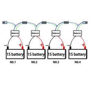 Image 4 - LIFEPO4,LTO, 폴리머, LMO,NCM 리튬 이온 배터리 용 QNBBM 5S 15V 액티브 밸런서 이퀄라이저 BMS 18650 DIY Pack