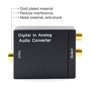 Image 5 - Optical Coaxial Toslink Digital to Analog Audio Converter Adapter RCA L/R 3.5mm