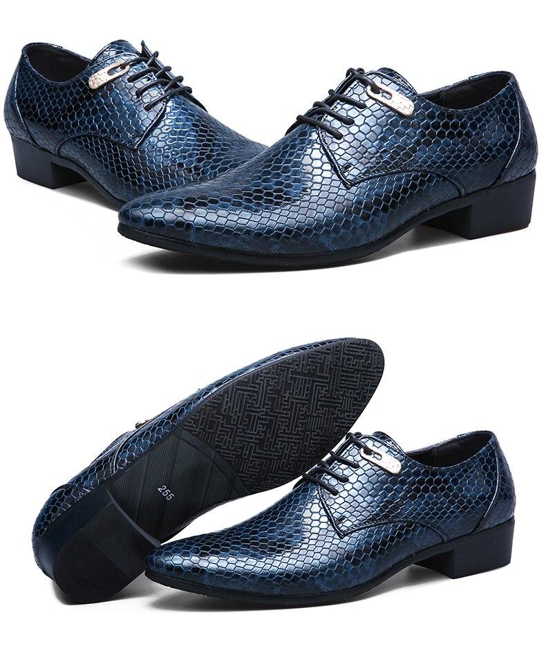 de negócios casuais masculinos apontou sapatos de