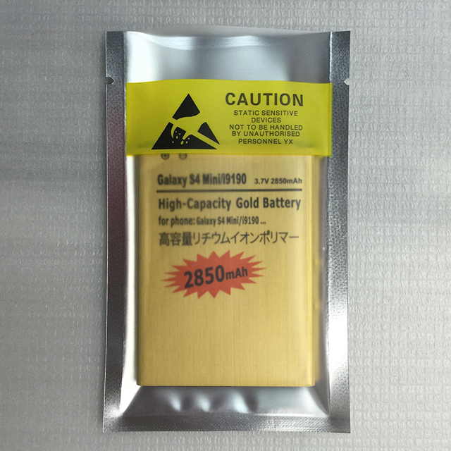 B500AE Battery 4 contacts For SAMSUNG Galaxy SIV S4 mini I9190 I9192 i9195 i9198 9190 9192 9195 9198 Batterie Batterij Bateria