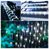 LED Solar Sensor Strip Lights Outdoor Fairy Lighting String Copper wire Tube Light Street Garland Decors for Garden Patio Trees discount